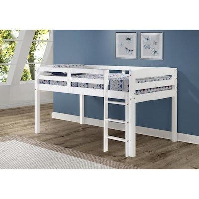 Camaflexi Concord White Twin Loft Bunk Bed At Lowes Com