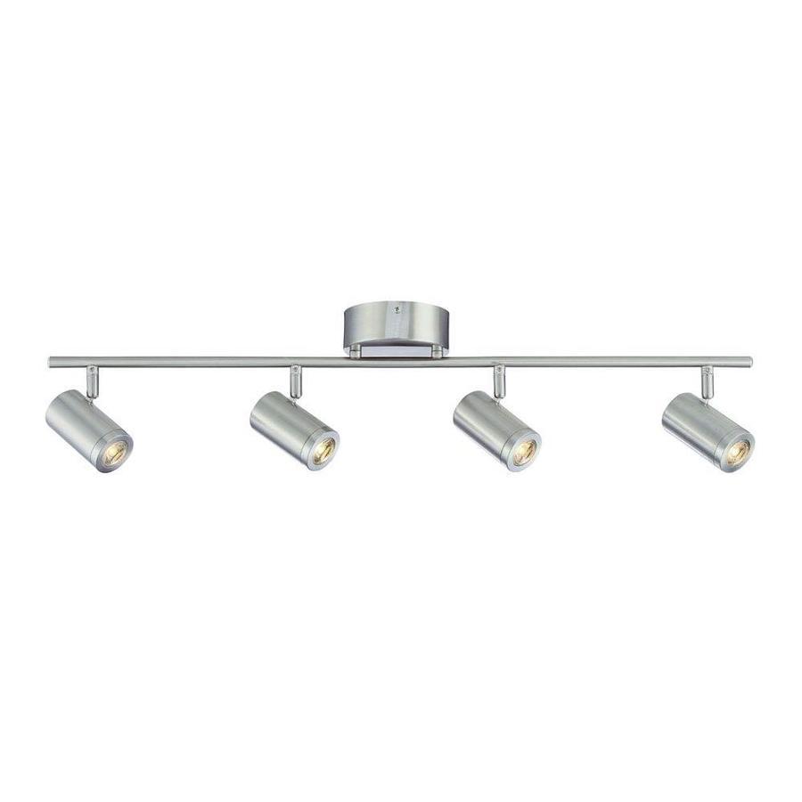 Light Brushed Nickel Integrated Led