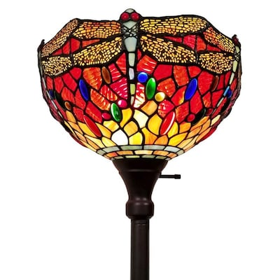 Amora Lighting 74 In Multi Torchiere Floor Lamp At Lowes Com
