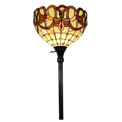 Amora Lighting 75.5-in Multi Torchiere Floor Lamp at Lowes.com