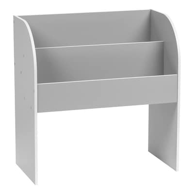 Peachy Iris Gray Wood 3 Shelf Bookcase At Lowes Com Andrewgaddart Wooden Chair Designs For Living Room Andrewgaddartcom