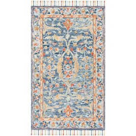 Aspen Barrie Blue Rugs At Lowes Com