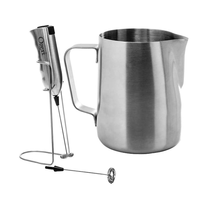 Coffee Milk Frothing Pitcher Frother Jug w// Scale Stainless Steel 3 Sizes #2