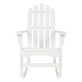 Heavy Duty Sun Lounger, Shine Company Marina White Wood Stationary Adirondack Chair S With Slat Seat In The Patio Chairs Department At Lowes Com