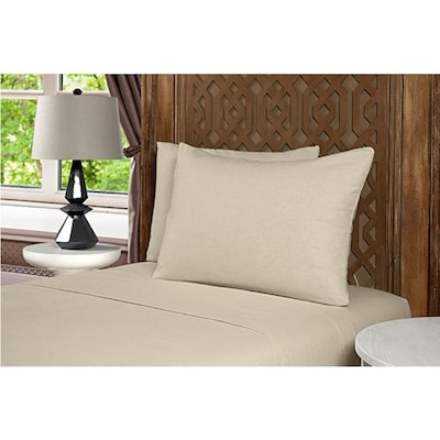 Mhf Home Geraldine 100 Cotton Flannel Sheet Set Twin Bed Sheets At Lowes Com
