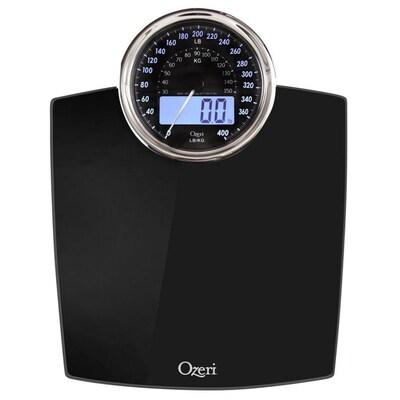 Ozeri 400 lbs. Rev Digital Black Bathroom Scale at Lowes.com
