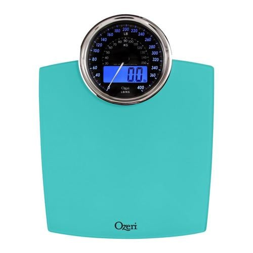Ozeri 400 Lbs Rev Digital Teal Bathroom Scale At Lowes Com