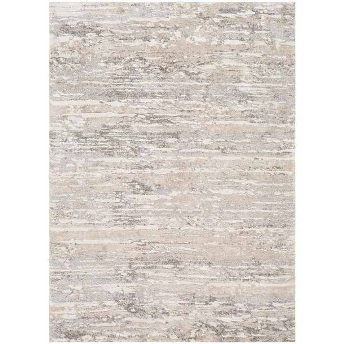 Surya Venice 4 X 6 Beige Indoor Abstract Moroccan Area Rug In The Rugs Department At Lowes Com