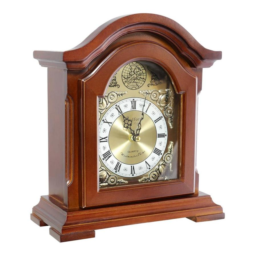 Bedford Clock Collection Bedford Clock Analog Chalet Mantel Clock In The Clocks Department At Lowes Com