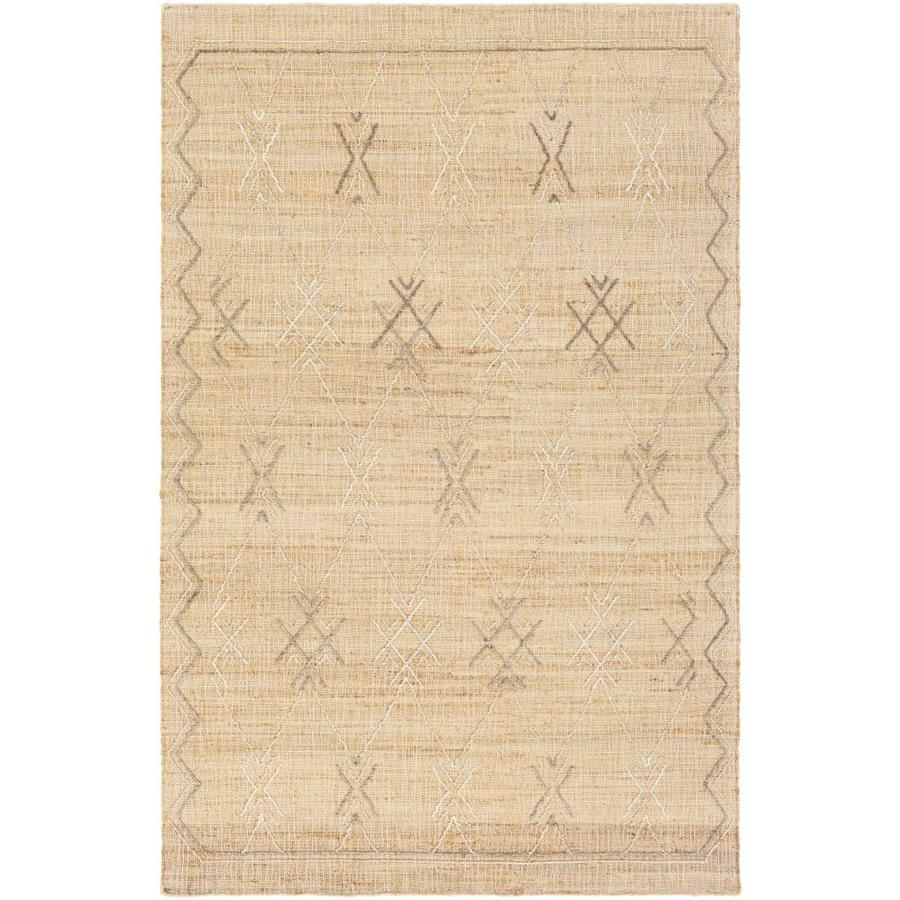 Surya Arielle 2 X 3 Khaki Indoor Geometric Moroccan Handcrafted Area Rug In The Rugs Department At Lowes Com