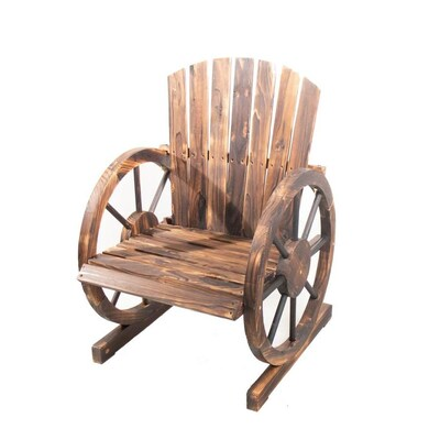 Surprising Backyard Expressions Wood Stationary Conversation Chair S Unemploymentrelief Wooden Chair Designs For Living Room Unemploymentrelieforg