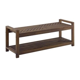 Magnificent Storage Bench Patio Benches At Lowes Com Cjindustries Chair Design For Home Cjindustriesco