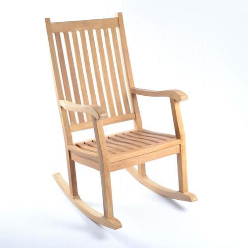 Tortuga Outdoor Jakarta Teak Set Of 2 Wood Rocking Chair S