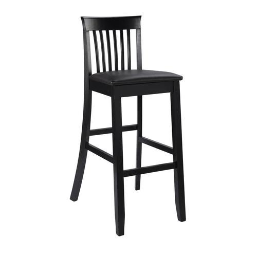 Admirable Linon Torino Collection Craftsman Bar Stool Black Bar Stool Pabps2019 Chair Design Images Pabps2019Com