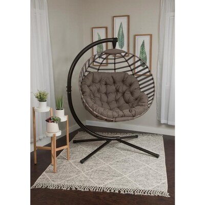 Pleasant Flowerhouse Modern Ball Chair W Stand At Lowes Com Short Links Chair Design For Home Short Linksinfo