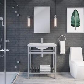 Stainless Steel Bathroom Vanities At