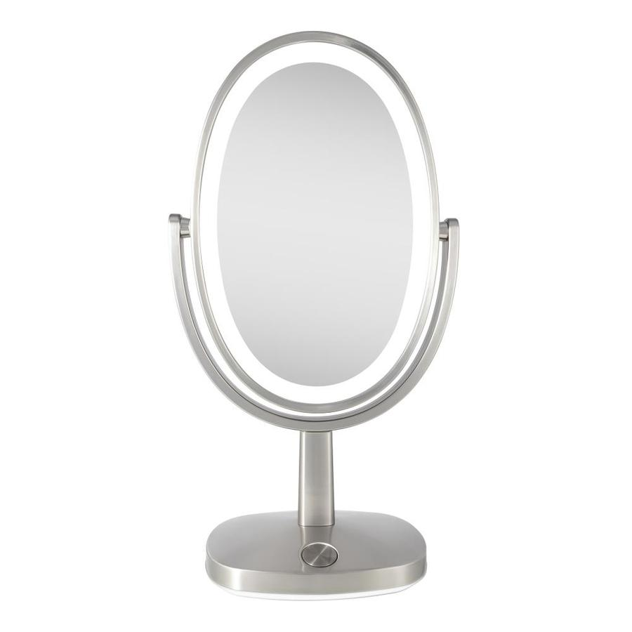 Allied Brass DM-1//3X-ORB Height Adjustable 8 Inch Vanity Top Make-Up Mirror 3X Magnification Oil Rubbed Bronze