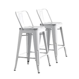 Cool White Bar Stools At Lowes Com Unemploymentrelief Wooden Chair Designs For Living Room Unemploymentrelieforg