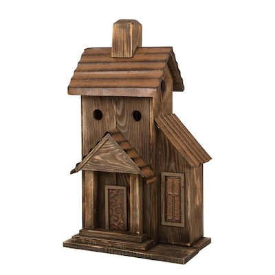 Glitzhome 24.02-inH Rustic Wood Natural Birdhouse at Lowes.com on modern birdhouse designs, mosaic birdhouse designs, cute birdhouse designs, exotic birdhouse designs, awesome birdhouse designs, unusual birdhouse designs, interesting birdhouse designs, whimsical birdhouse designs, ornate birdhouse designs, creative birdhouse designs,