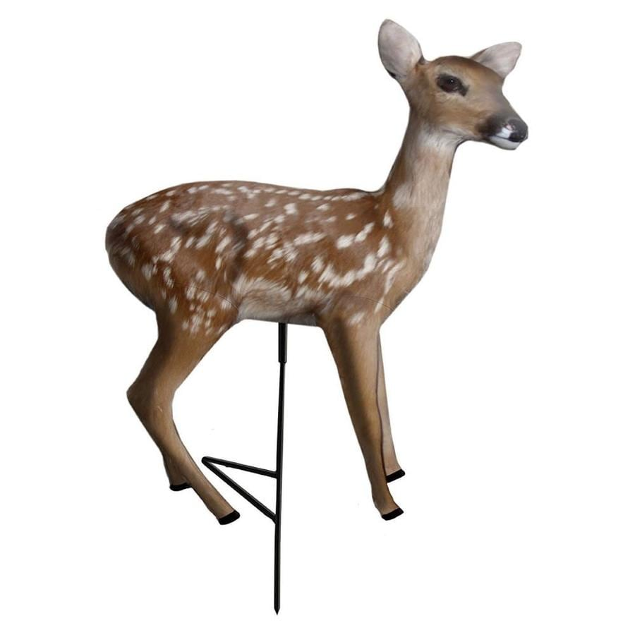 Primos Hunting Frantic Fawn Standing Motion Whitetail Deer Decoy for Predators
