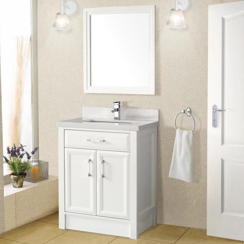 Spa Bathe Calumet 28-in White Single Sink Bathroom Vanity ...