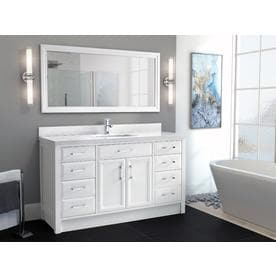Single sink Bathroom Vanities at Lowes.com