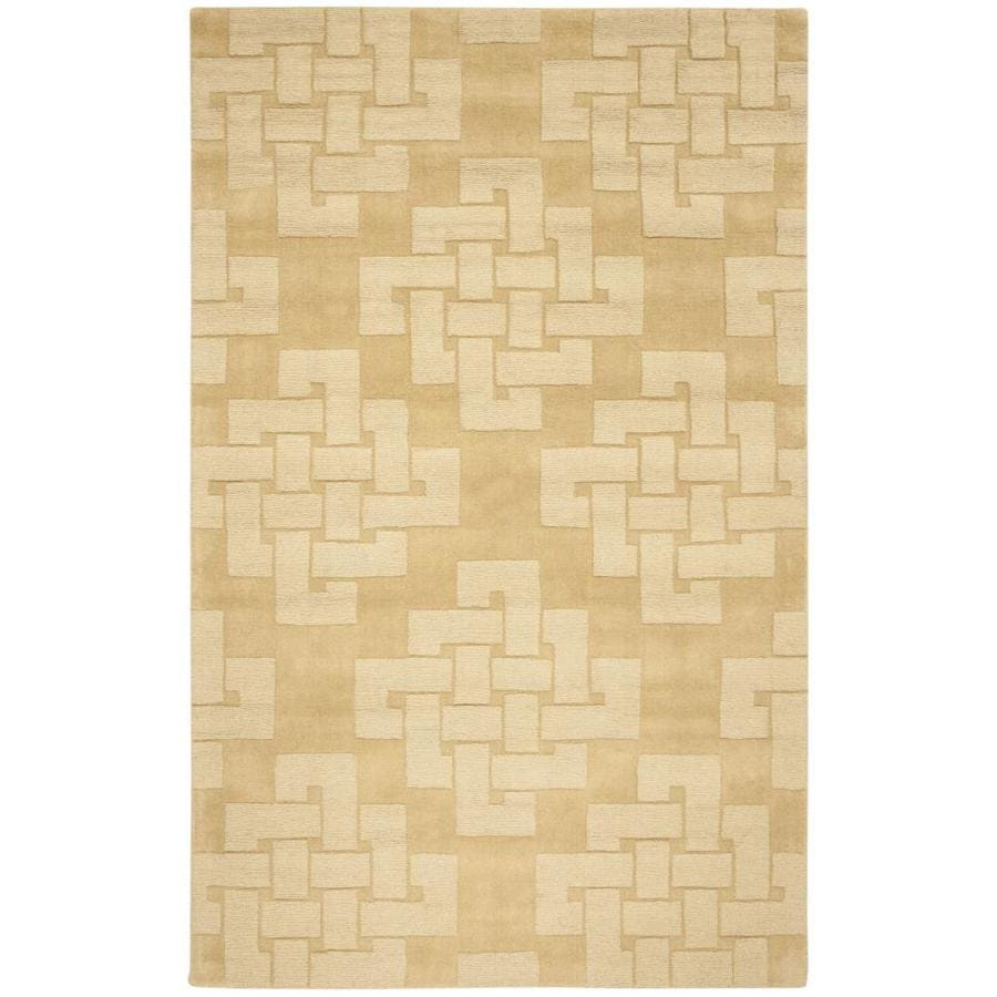 Martha Stewart Knot 5 X 8 Rattan Abstract Farmhouse Cottage Handcrafted Area Rug In The Rugs Department At Lowes Com
