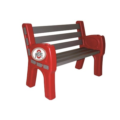 Miraculous Imperial International Ohio State Park Bench At Lowes Com Frankydiablos Diy Chair Ideas Frankydiabloscom
