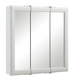 Tri View Mirror Medicine Cabinets At Lowes Com