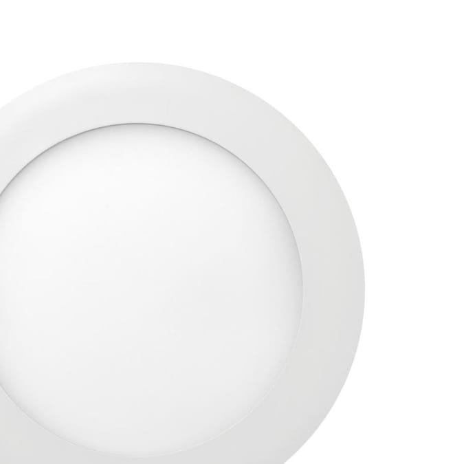 Globe Electric Designer Series Ultra Slim 4 Pack 6 1 4 In Led Remodel And New Construction White Ic Shower Recessed Light Kit In The Recessed Light Kits Department At Lowes Com