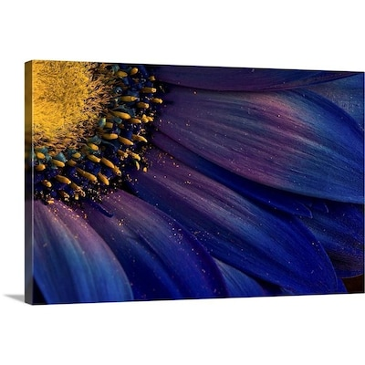 Greatbigcanvas Greatbigcanvas Frameless 16 In H X 24 In W Abstract Canvas Painting In The Wall Art Department At Lowes Com