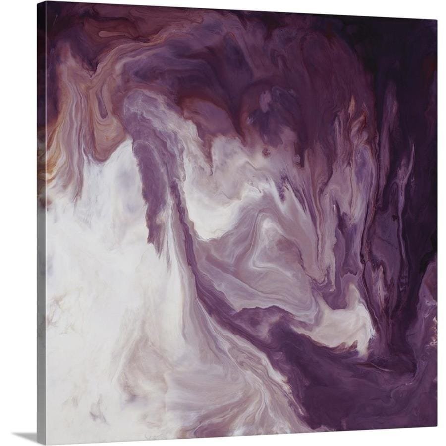 Greatbigcanvas Greatbigcanvas Frameless 16 In H X 16 In W Abstract Canvas Painting In The Wall Art Department At Lowes Com