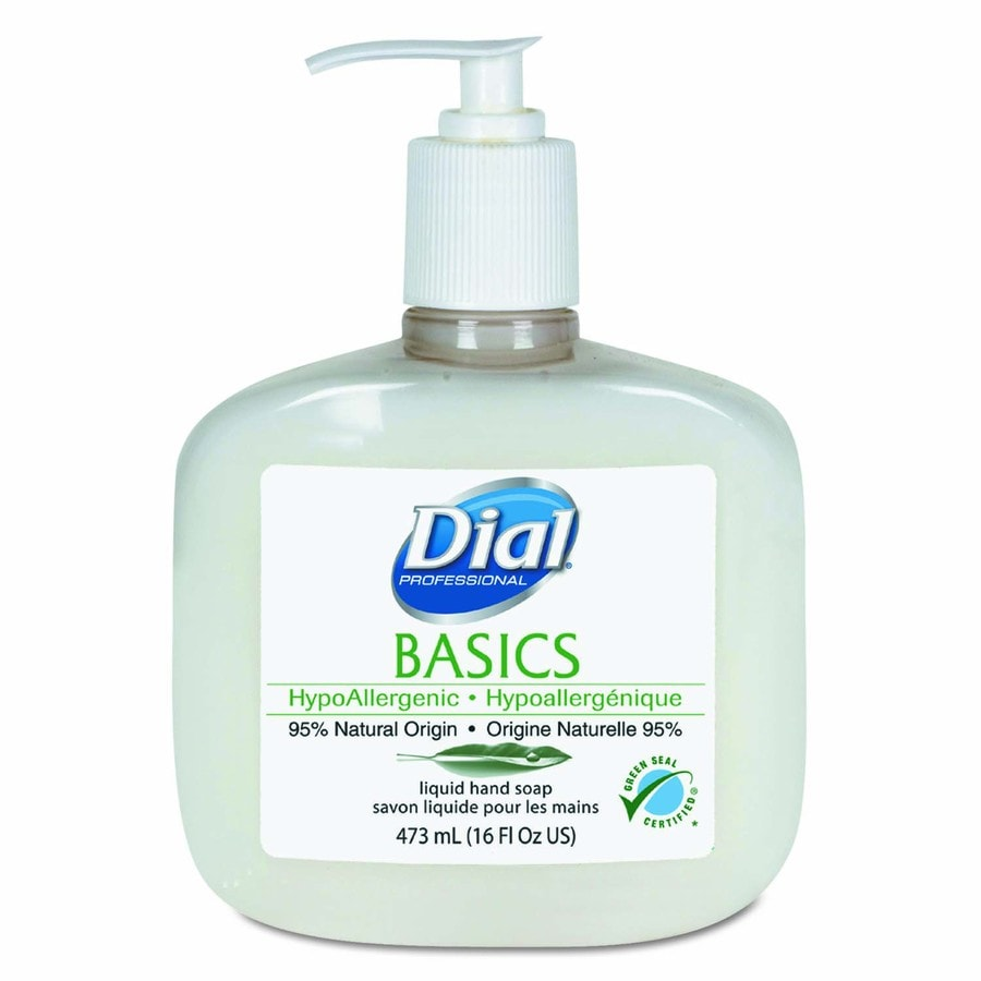 Dial 12-Pack 16-oz Rosemary and Mint Hand Soap