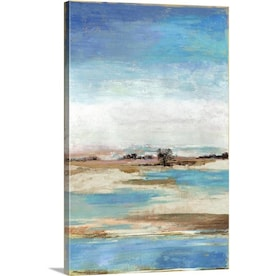 Greatbigcanvas Greatbigcanvas Frameless 30 In H X 20 In W Abstract Canvas Painting In The Wall Art Department At Lowes Com