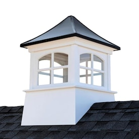 Good Directions 26in Square Coventry Vinyl Cupola With Horse Weathervane By Good Directions In The Cupolas Department At Lowes Com