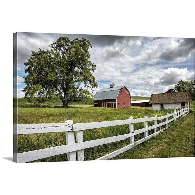 GreatBigCanvas GreatBigCanvas Frameless 20-in H x 30-in W ...