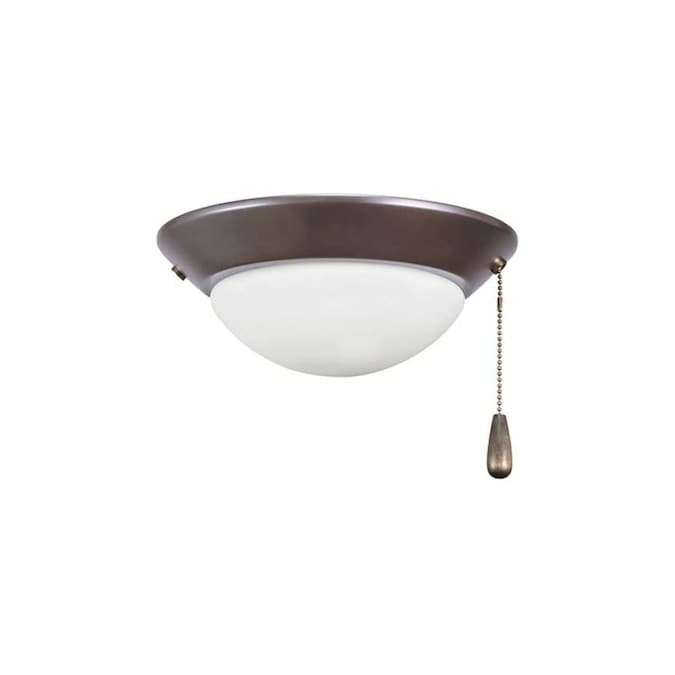 Rp Lighting Fans 2 Light Oil Rubbed Bronze Led Ceiling Fan Light Kit In The Ceiling Fan Light Kits Department At Lowes Com