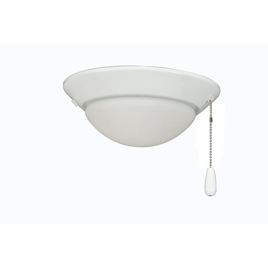 Rp Lighting Fans 2 Light White Led Ceiling Fan Light Kit In The Ceiling Fan Light Kits Department At Lowes Com