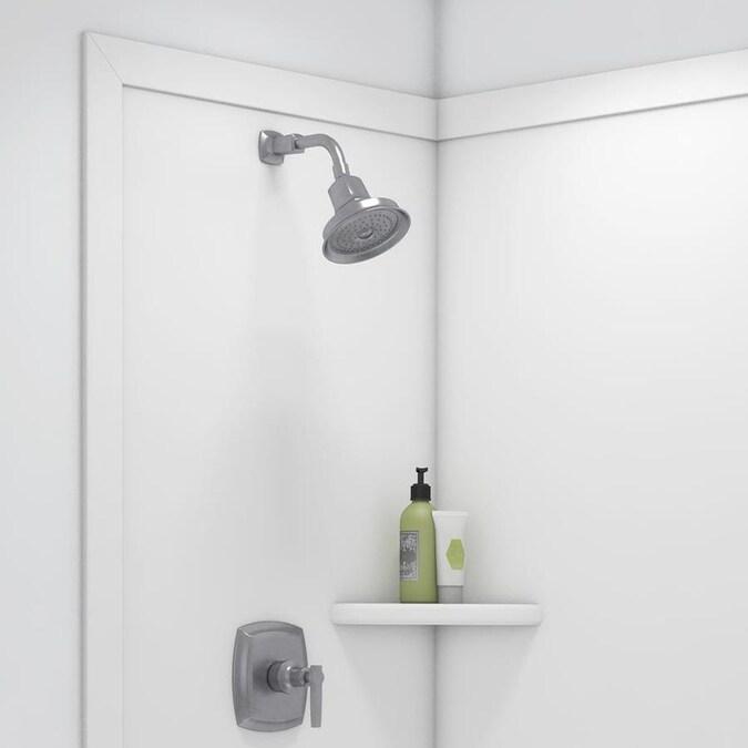 flexstone elegance 2 white panel kit shower wall surround