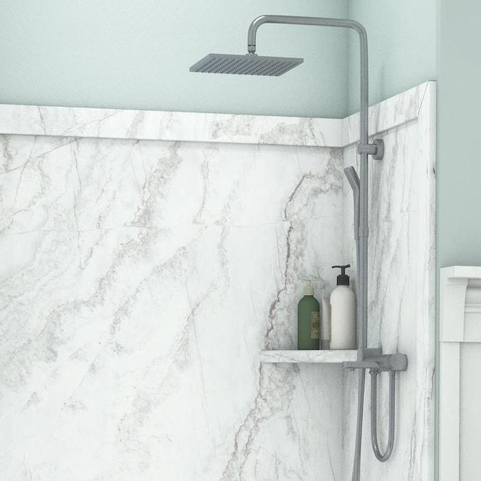 flexstone elegance 3 calypso panel kit shower wall