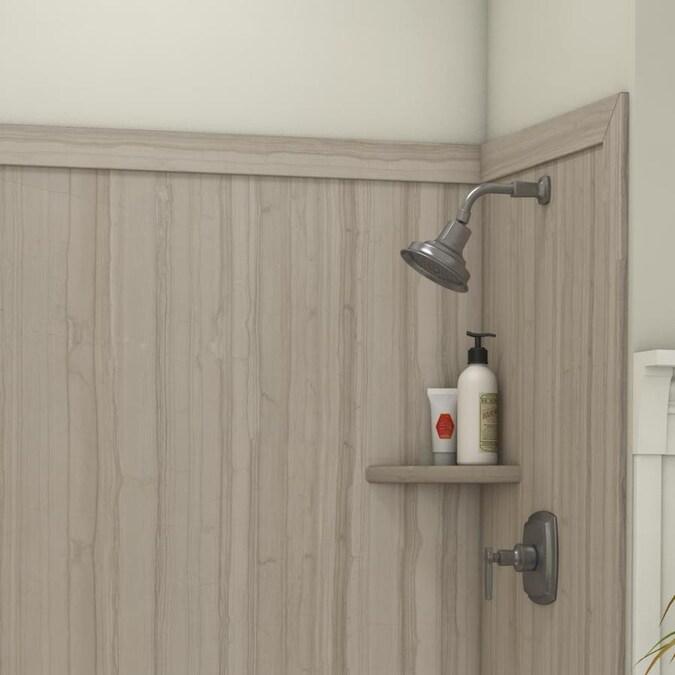 flexstone royale athens panel kit shower wall surround 60