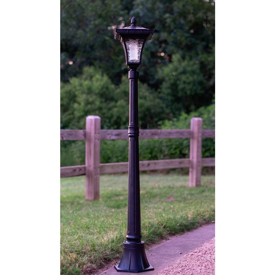 Vittoria Single Head Solar Lamp Post