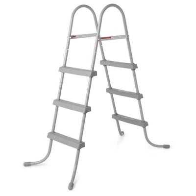 Bestway 36-in Steel Above Ground Swimming Pool Ladder No ...