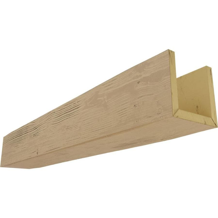 Ekena Millwork Sandblasted Endurathane Faux Wood 6 In X 6 In X 168 In Natural Pine Prefinished Polyurethane Decorative Beam In The Faux Beams Department At Lowes Com