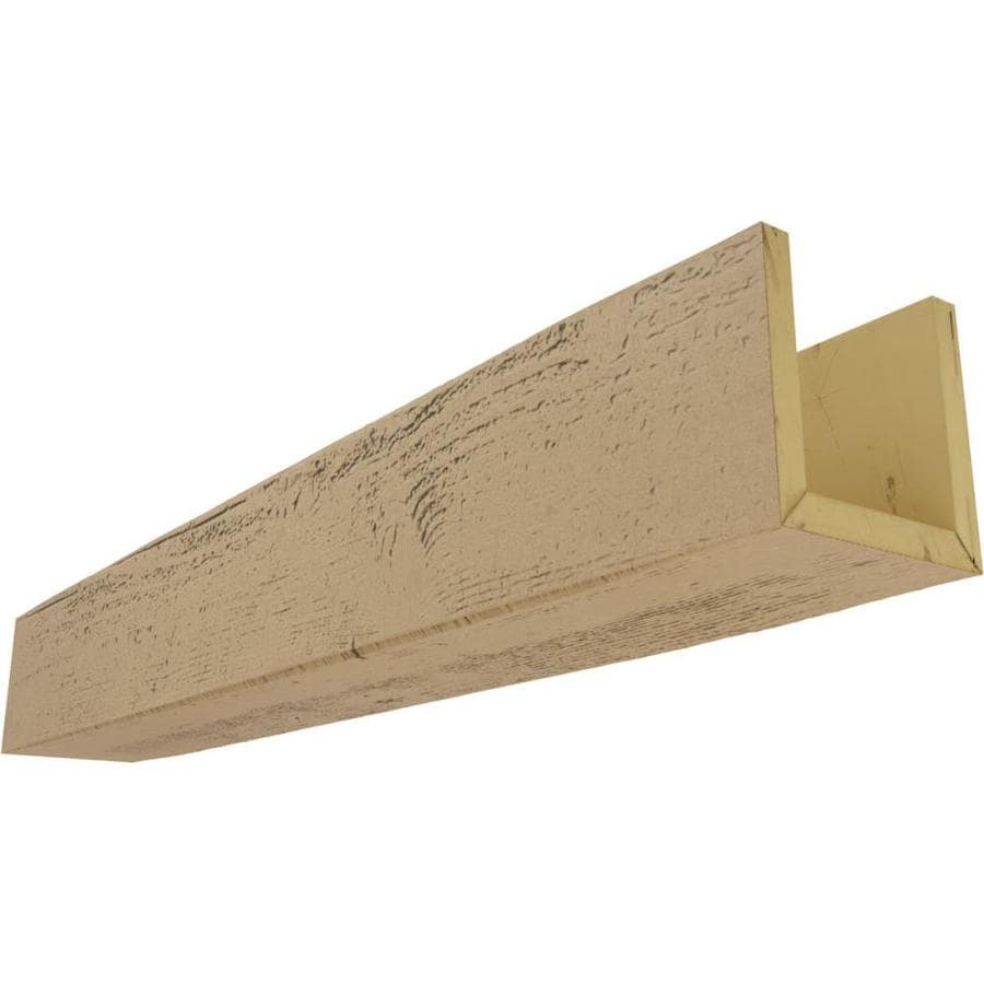 Ekena Millwork Rough Sawn Endurathane Faux Wood 12 In X 8 In X 240 In Natural Pine Prefinished Polyurethane Decorative Beam In The Faux Beams Department At Lowes Com