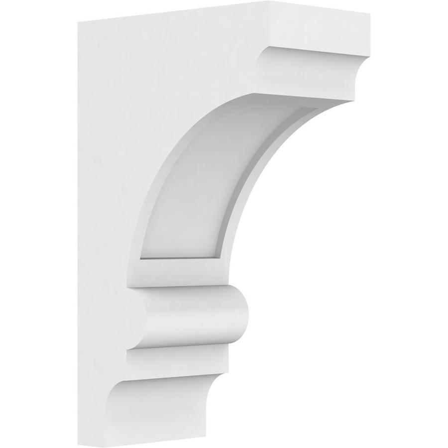 Ekena Millwork Standard Diane 3 In X 6 In X 10 In X 6 In Standard Diane Unfinished Pvc Corbel In The Corbels Department At Lowes Com