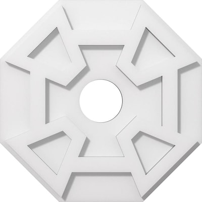 X 4 75 Pvc Ceiling Medallion At Lowes