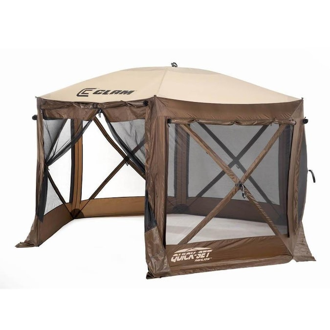 Clam Outdoors Quick Set Pavilion Portable Outdoor Gazebo