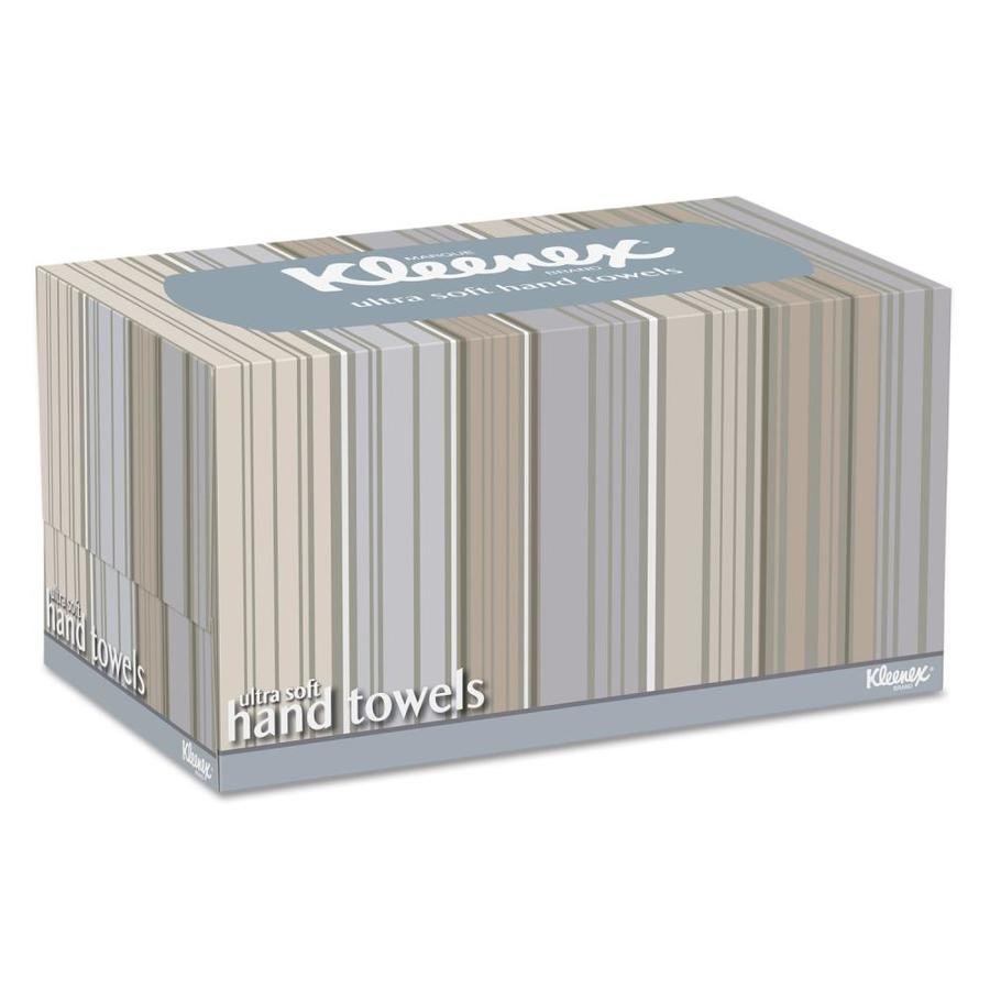 Kleenex Ultra Soft Hand Towels Pop Up Box White 70 Box 18 Boxes Carton In The Paper Towels Department At Lowes Com