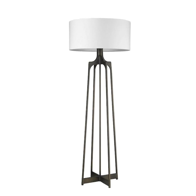 Oil Rubbed Bronze Shaded Floor Lamp